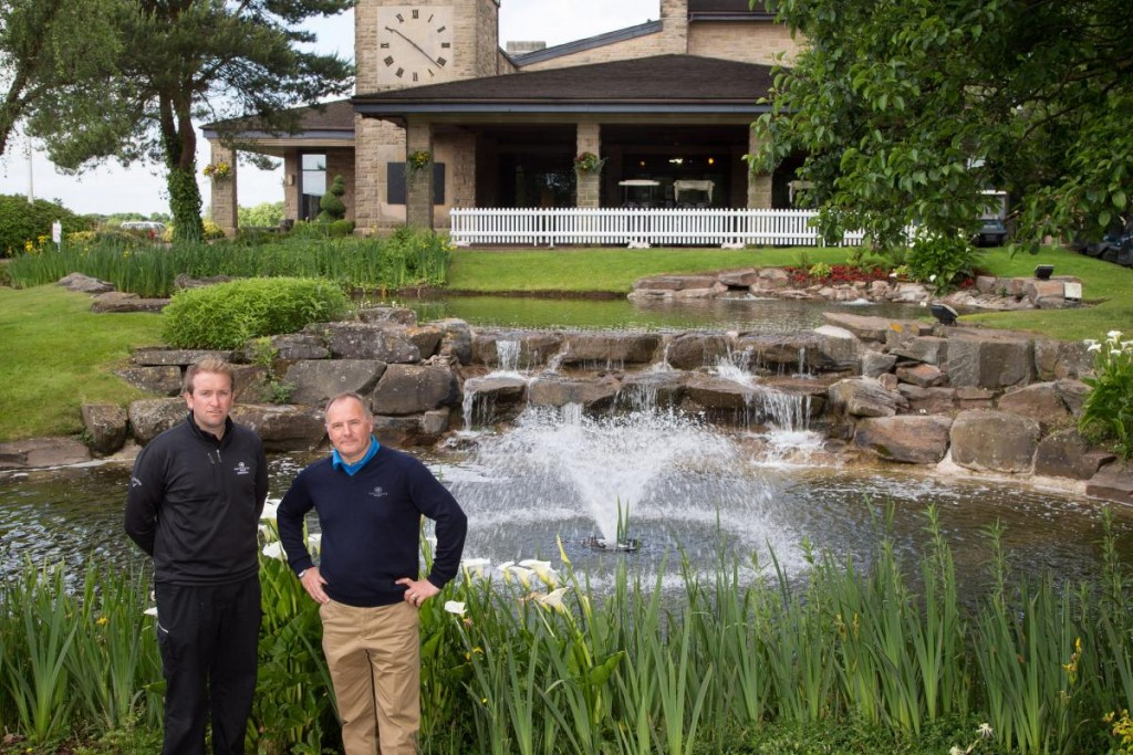Celtic Manor's Golf Club Pond Gets A Makeover With New Otterbine Fountain