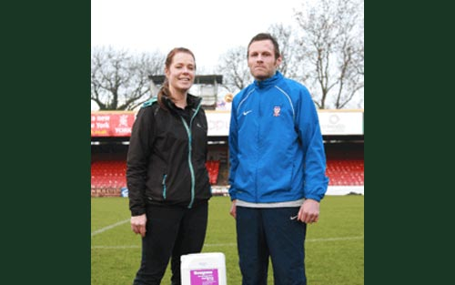 Line Marking Prowess With Sherriff Amenity At York City
