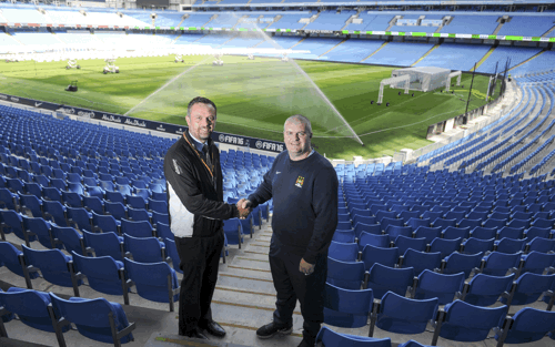 Man City Benefits from Upgraded Irrigation System