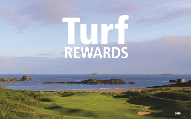 New Turf Rewards for 2016
