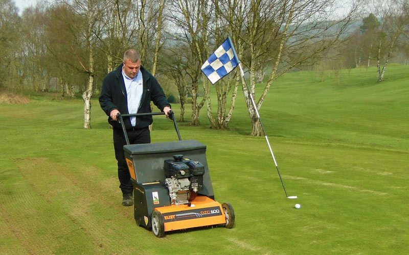 Eliet DZC 600 the key to successful overseeding