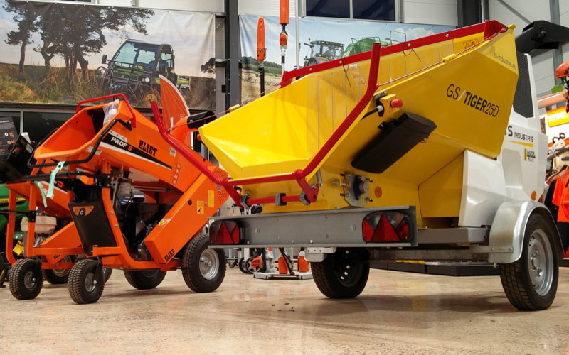 TS Industrie and Eliet chipper-shredders from Farol