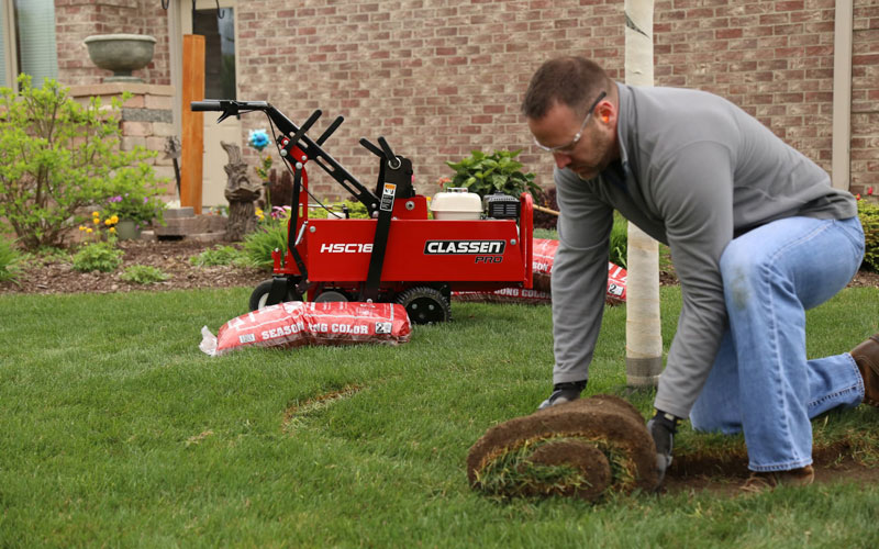 New compact Sod Cutters from Classen