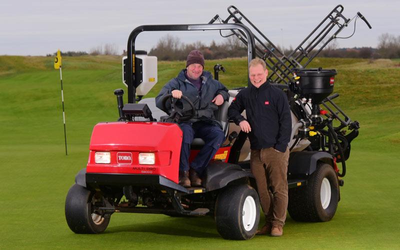 Hunstanton Golf Club upgrades sprayer