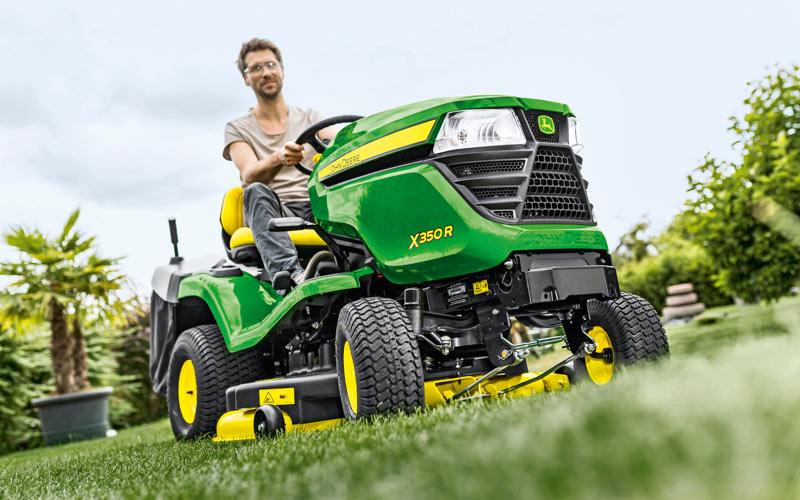 New John Deere lawn tractor
