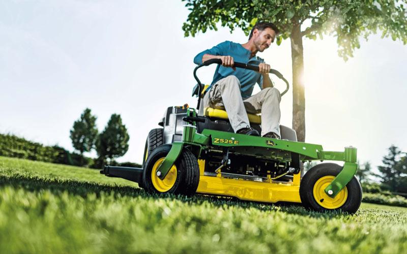 New John Deere zero-turn mowers