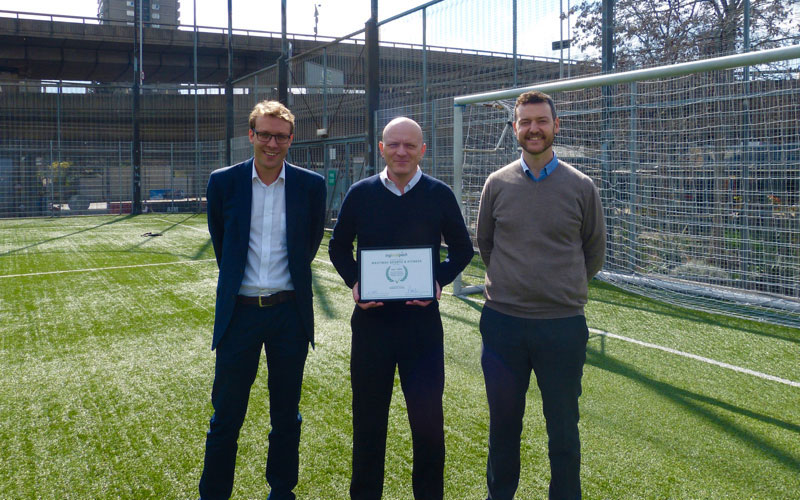 Westway Sports wins sports venue award