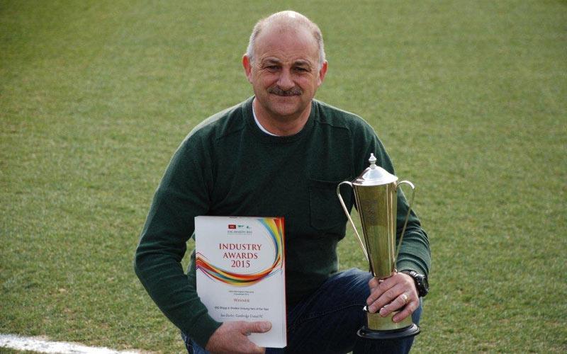 Groundsman shares secrets to success