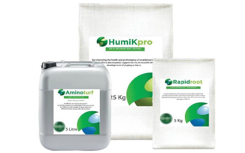 Sherrif Amenity launch new bio-stimulant range