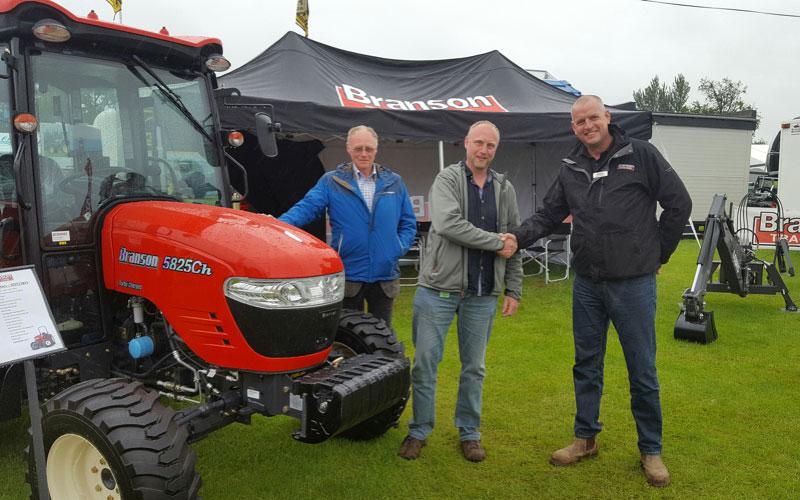Scotland's first Branson Tractors dealer