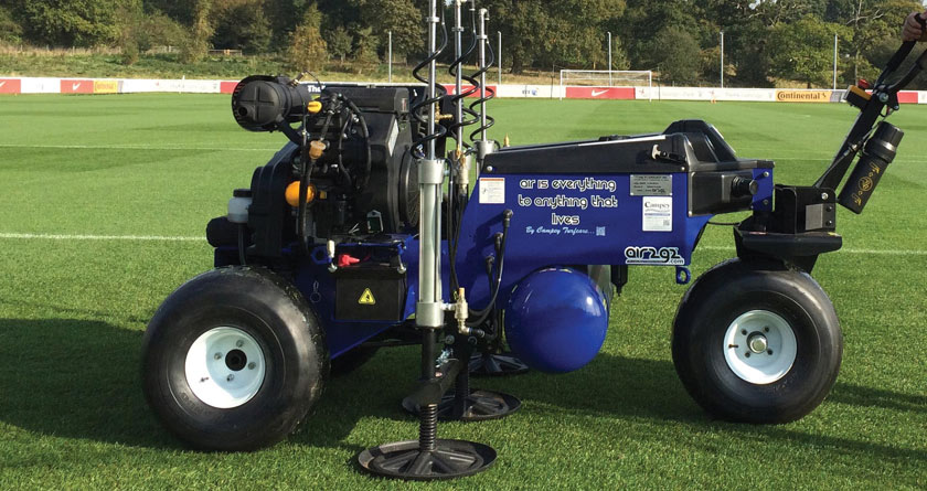 Air2G2 GT practicality at Cheltenham Town
