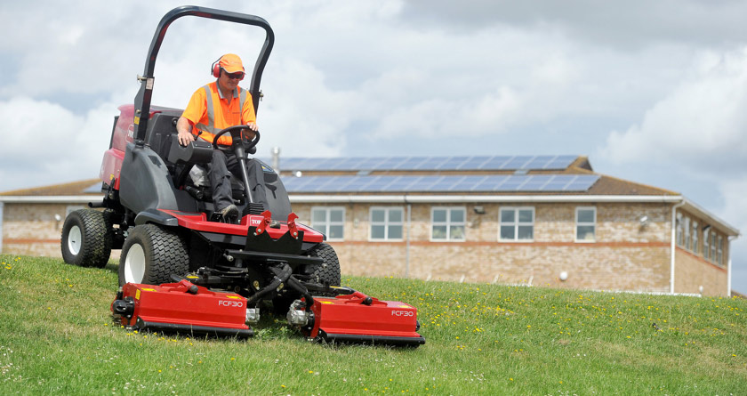 Triple flail mower makes positive impression