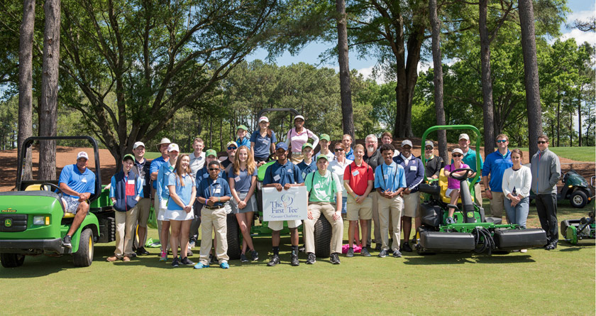 Deere extends support for The First Tee®