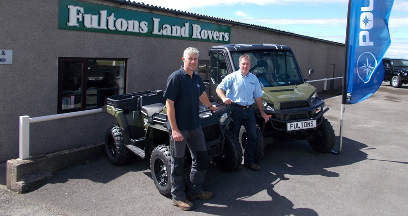 Fultons Land Rovers take on Polaris