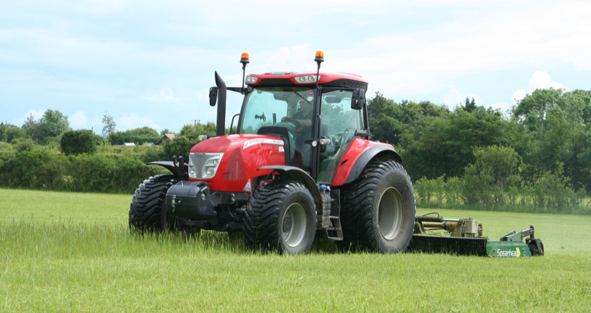 McCormick X6 tractors for turf applications