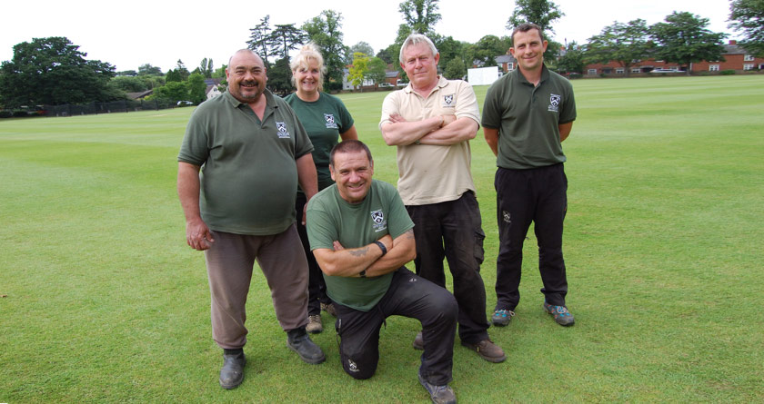 School grounds team exceed expectations