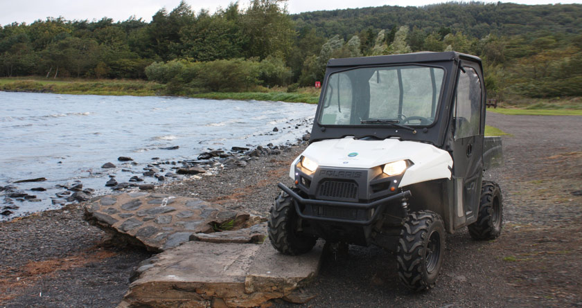 Polaris Ranger gains Fife's trust