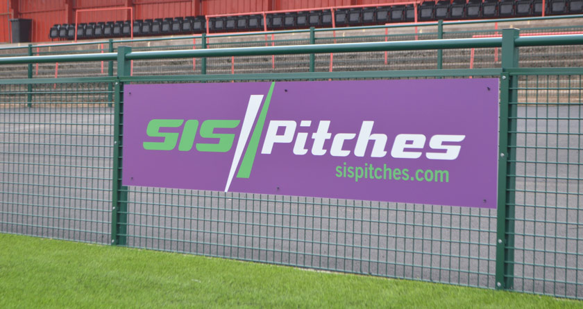 Redditch Utd announce SIS Pitches partnership