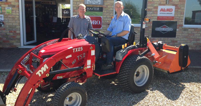 Green Stripe joins TYM tractor dealer network