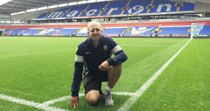 iTurf Success for Bolton Wanderers
