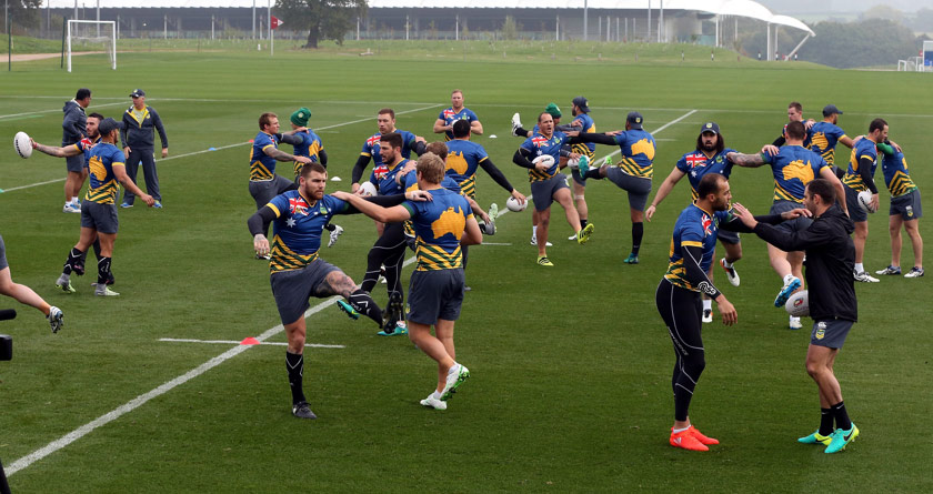 Aussies kick-start Four Nations with SISGrass
