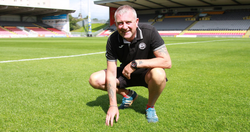 Souters get the game on at Partick Thistle