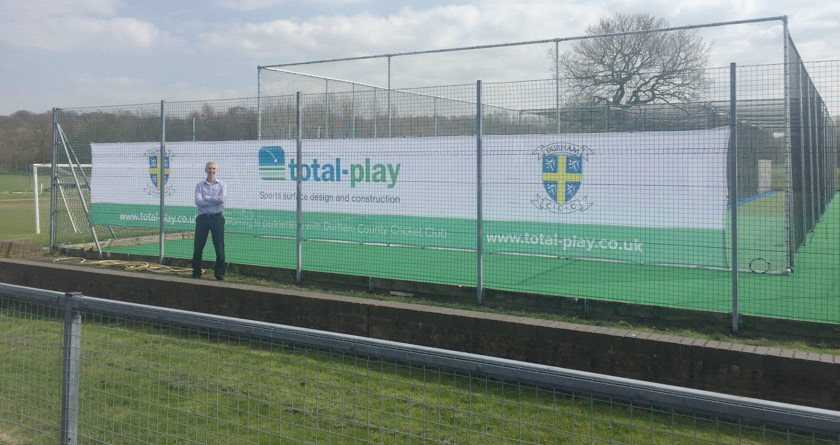 New tp365 practice nets at Durham CCC