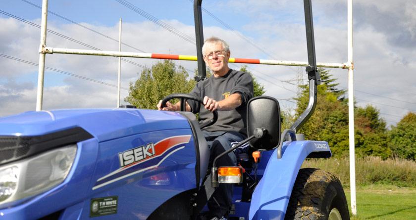 Rugby club secures RFU grant for Iseki compact