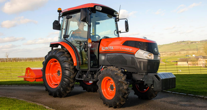 Kubota UK 'Scrapes' the price on L40 Series