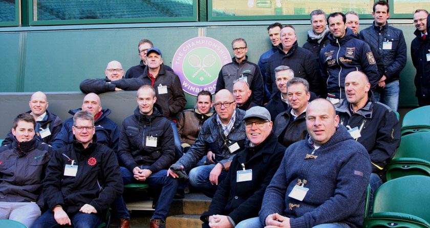 Limagrain UK host Dutch turf professionals tour