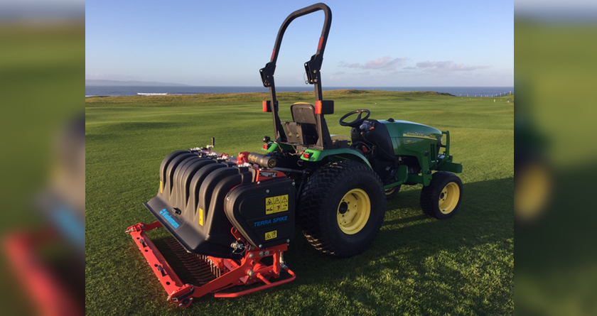 Terra Spike is smart addition to aeration fleet