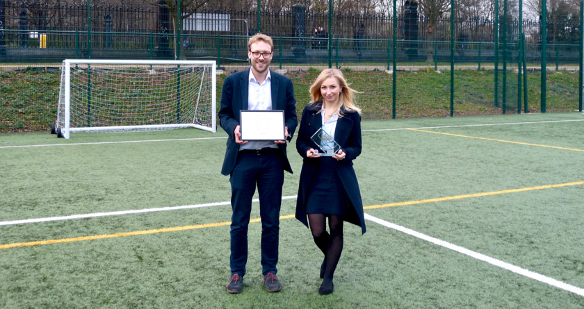 Market Road ATP crowned 'Outstanding London Sports Venue' for 2016