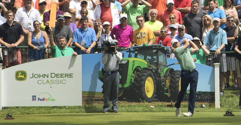 John Deere Classic voted tournament of the year