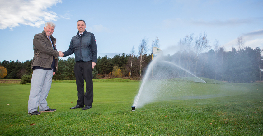 Oakmere brings in complete Toro irrigation system