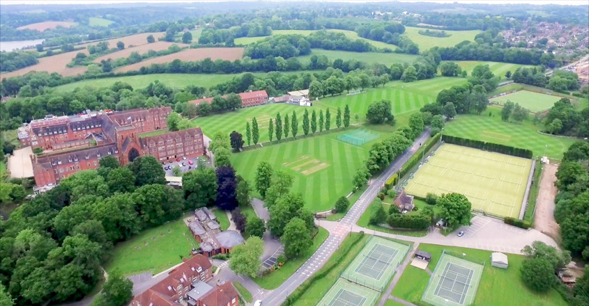 On the right lines at Ardingly College