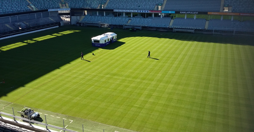 Sweden gets first taste of SISGrass
