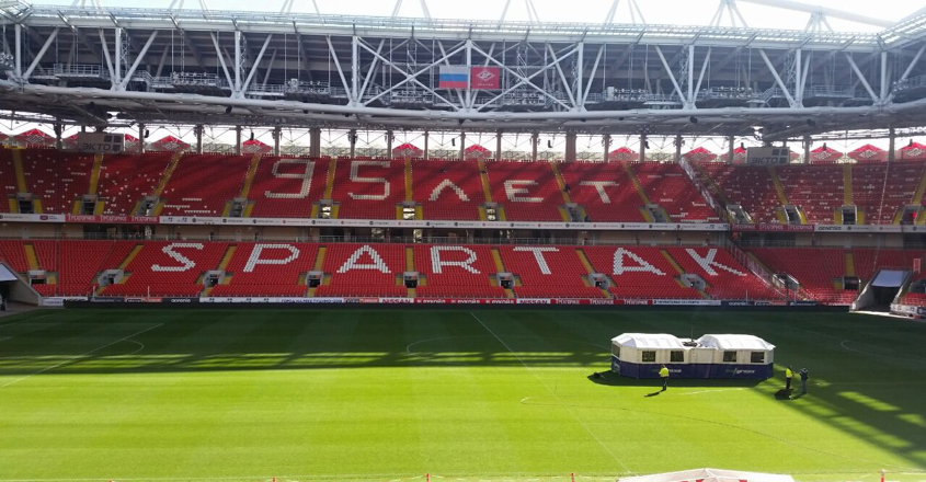 Spartak Moscow switch to SISGrass