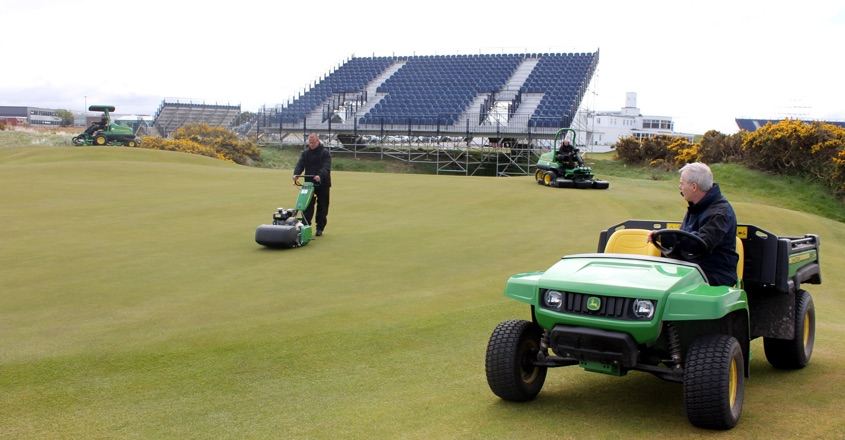 Royal Birkdale gets ready for The Open