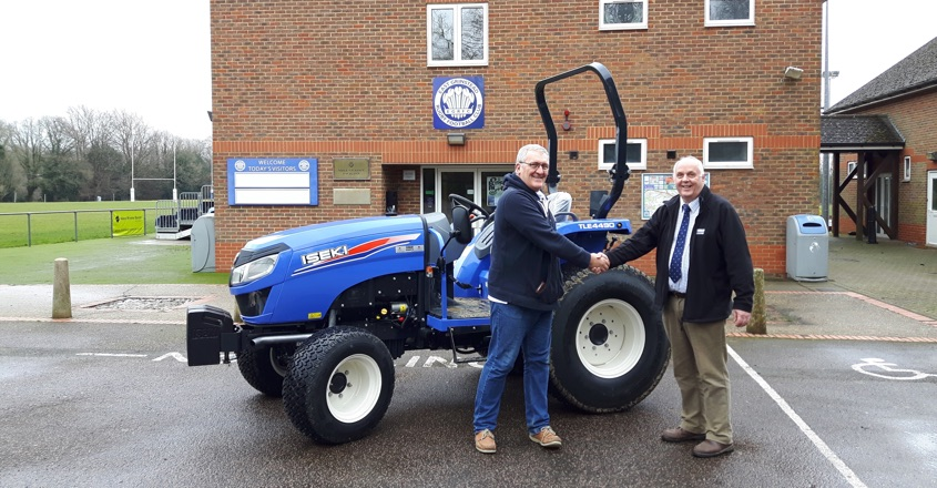 First Iseki TLE4490 for East Grinstead RFC