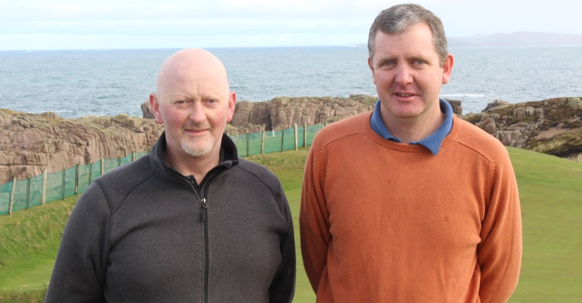 iTurf improves 9 hole Cruit Island GC