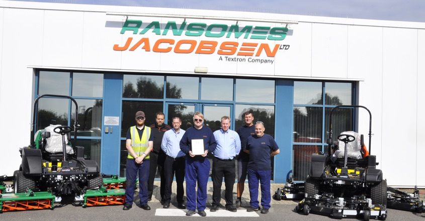 Ransomes Jacobsen wins RoSPA award