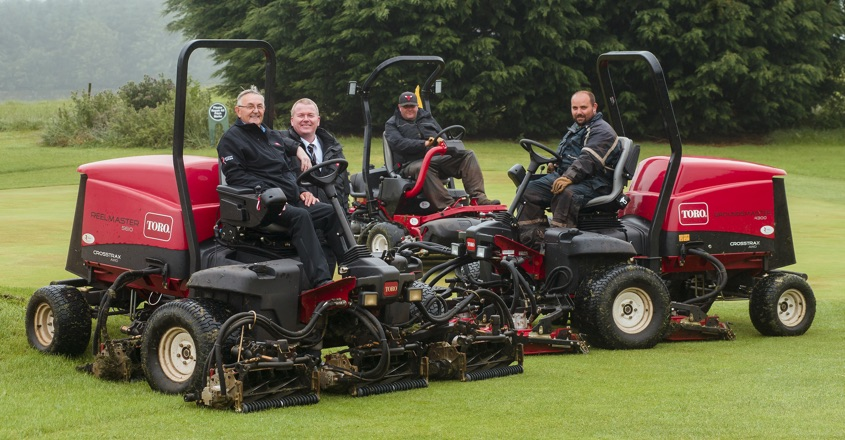 Toro trio impresses Duns Golf Club