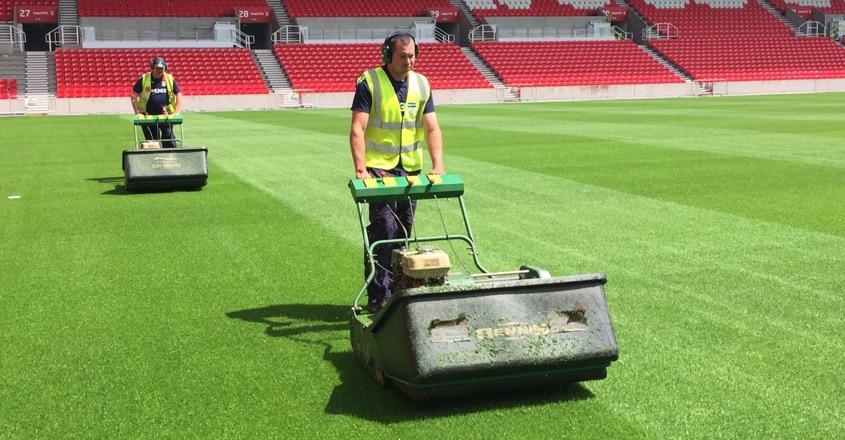 Dennis mowers integral for Stoke City FC