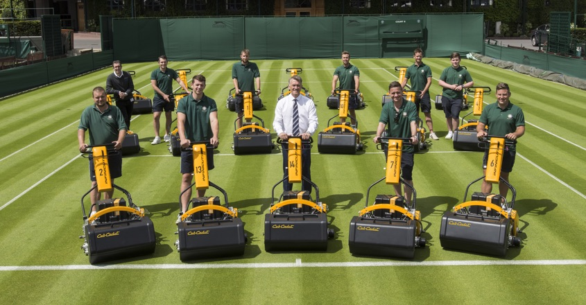 Mower fleet replaced at Wimbledon