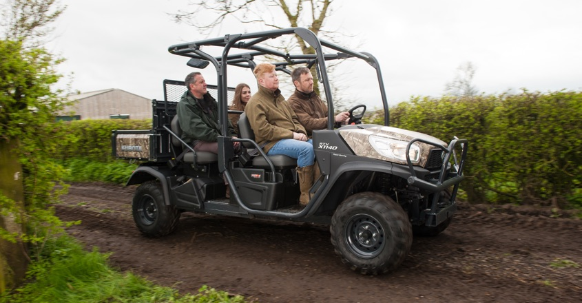 Kubota's new RTV is X-actly what you're looking