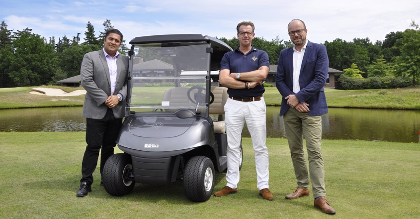 First E-Z-GO ELiTE golf cars in Europe