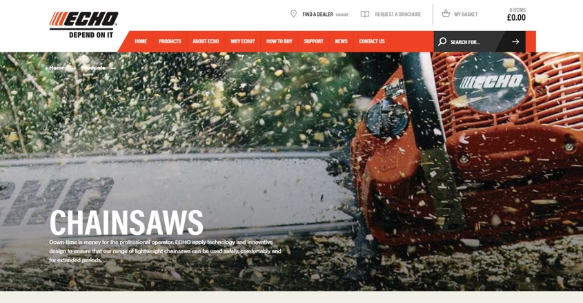 Ariens launches new ECHO website