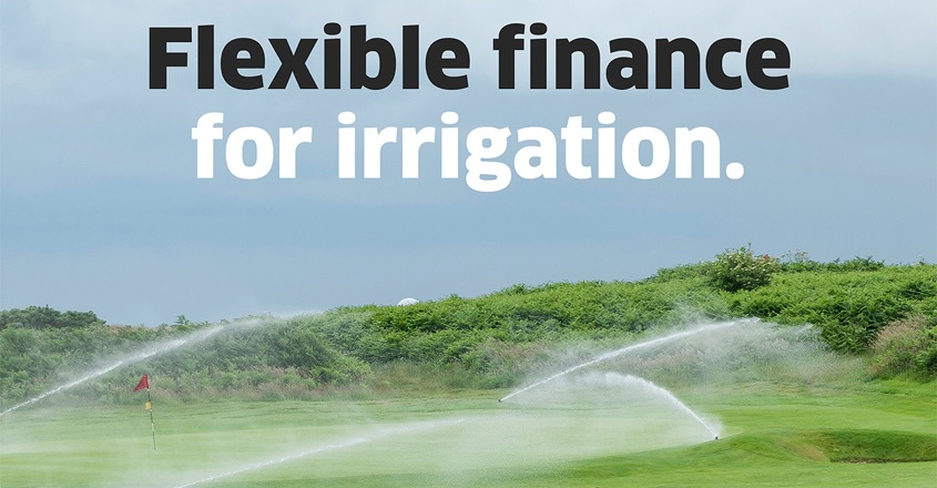 Finally! Finance for Irrigation