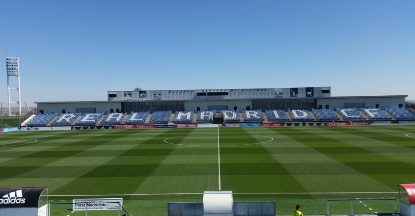 HERO pitches installed at Real Madrid