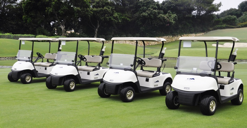 Valderrama invests in E-Z-GO ELiTE™